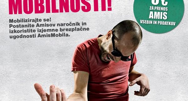 AmisMobil, super ponudba mobilne telefonije Amisa, ponudnika zanesljivih telekomunikacijskih storitev.